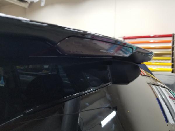Smoked 3rd Brake Light Overlays (2019 Forester)