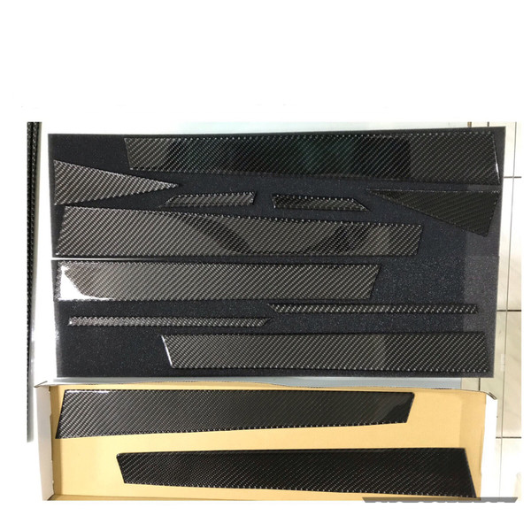 100% Real Carbon Fiber Door PIllars A,B & C - 12 pcs (2014-2018 Forester)