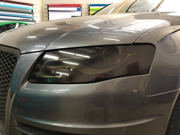 Smoked Head Light Overlays (09-12 Audi A4/S4)
