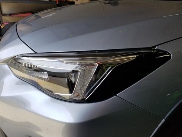 Head Light Amber Delete Steering Responsive Headlights - BLACKOUT (2018-2021 Crosstrek XV / Impreza)