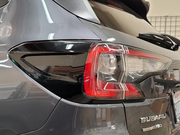 BLACKOUT Side Tail Light Reflector Overlays Tint (2020-2021 Outback)