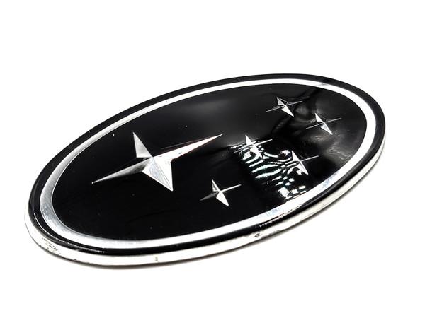 "Black Replacement Emblem ""Stars"" - Front (02-05 WRX/STI)"