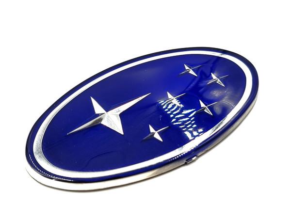 "Blue Replacement Emblem ""Stars"" - Front (02-05 WRX/STI)"