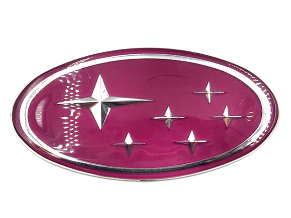 "Pink Replacement Emblem ""Stars"" - Front (02-05 WRX/STI)"