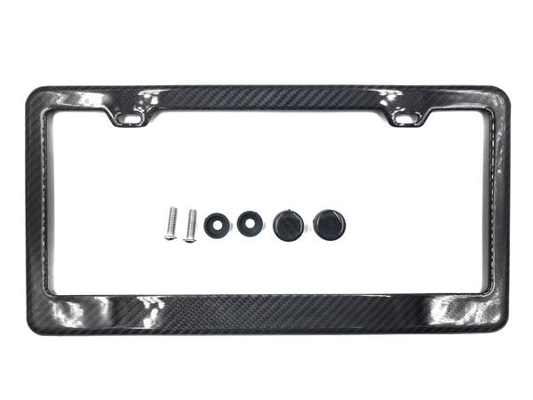 100% Real Carbon Fiber  license Plate Frame