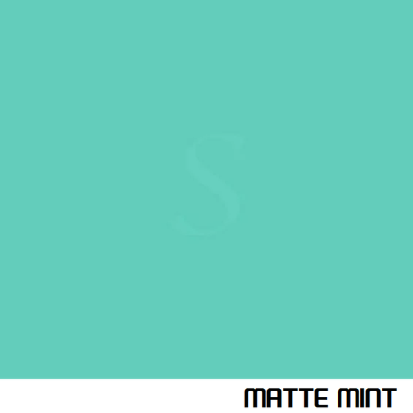 MATTE MINT Vehicle Wrap Vinyl - Oracal 970RA - 055M