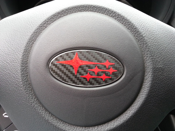 Steering Wheel Badges - Precut Emblem Overlays (SET OF 3)