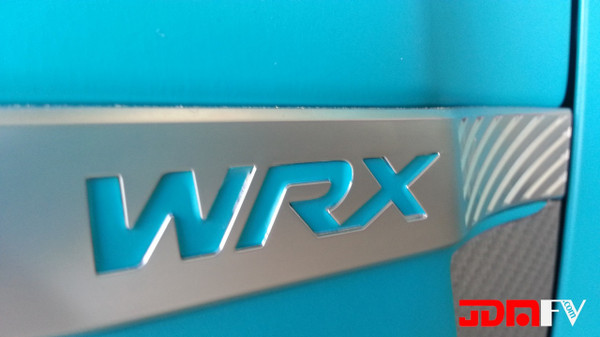 WRX Fender Lettering Inlay kit (08-14 WRX)
