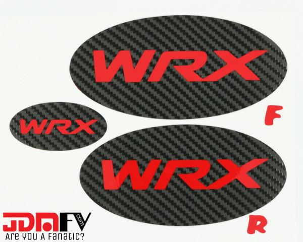 WRX LOGO -  Precut Emblem Overlays Front/Rear (2015-2020 WRX)