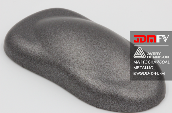 Avery SW900-845-M - Matte Charcoal Metallic Vehicle Wrap Vinyl - Universal Kit