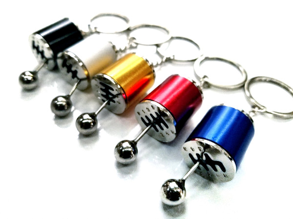 6-Speed Shifter Keychain