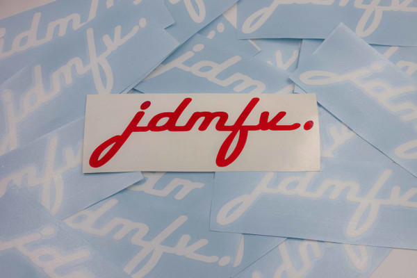 JDMFV Signature - DECAL