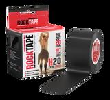 5cm Black RockTape Pre-Cut - H2O