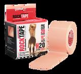5cm Beige RockTape Pre-Cut - H2O