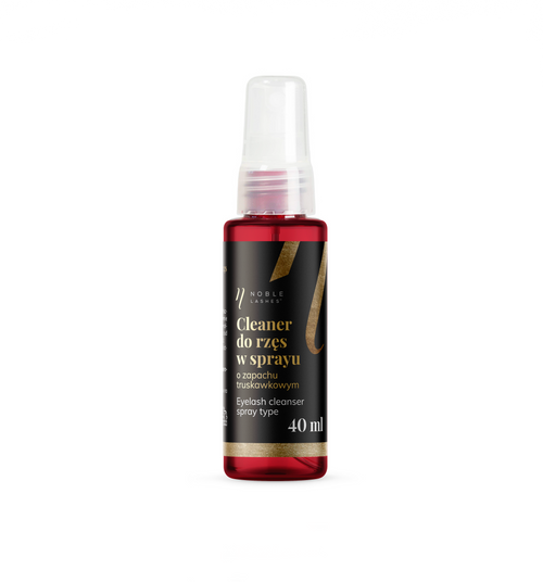 Strawberry Lash Cleanser 40 ml for Extension Treatment