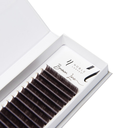 Brown Line Lashes Natural for Extension