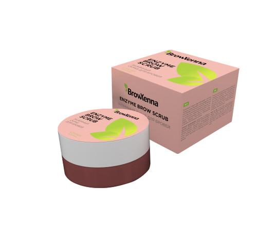 BrowXenna® Enzyme Scrub Enzymatic brow scrub with Kerationin