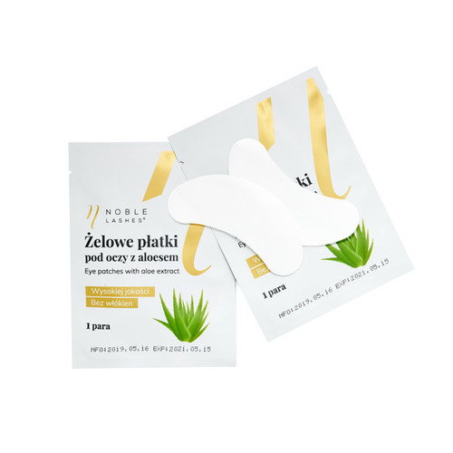 Eye Patches with Aloe Extract