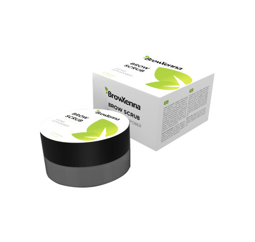 BrowXenna® Brow Scrub Pre-treatment Cleansing with Shea Butter