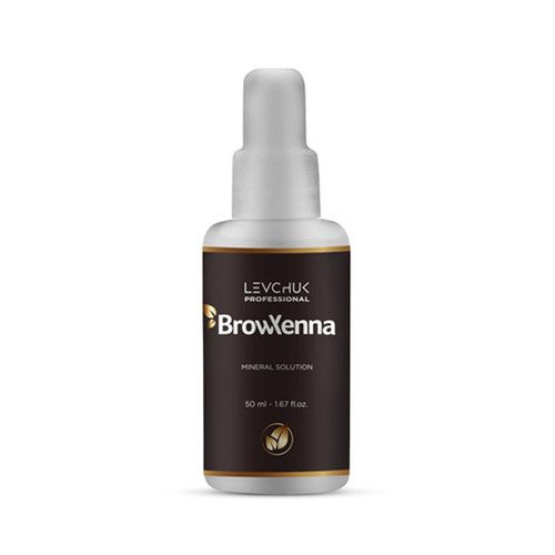 BrowXenna Mineral Solution mineral water of high purity 50 ml