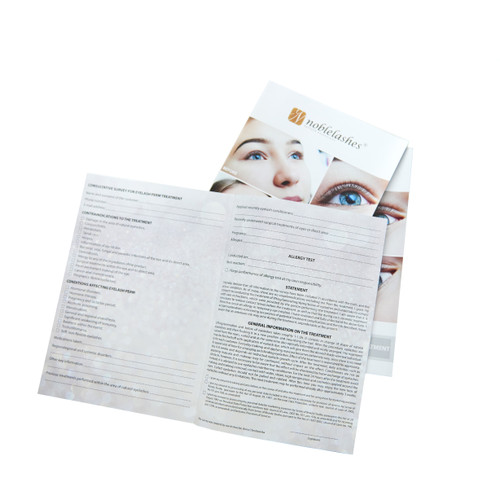 Qualification questionnaire for the lifting and lamination procedure 10 pcs