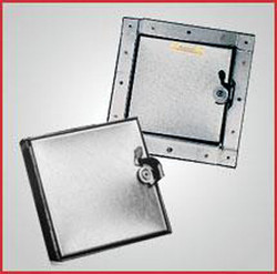 Ductmate Tabbed Style Square Frame Insulated Doors 8 x 8