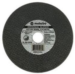 """Metabo 6"""" x 1/8"""" x 5/8"""" Type 1 Cutting Wheel"""
