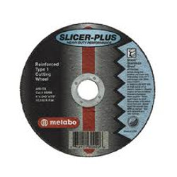 "Metabo 4"" x 1/16 x 5/8"" ""Slicer"" Wheels"