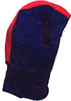 Blue and Red Long Winter Hard Hat Liner
