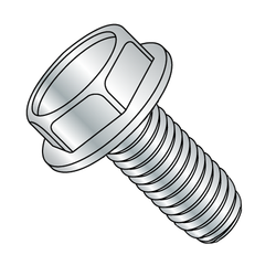 8-32 x 3/8 UnSlotted H/W Zinc Plated Swageform®