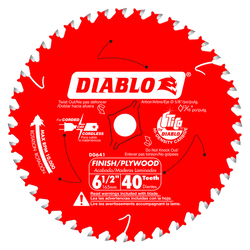 "carbide tipped circular saw blade,6-1/2"" circular blade for wood,finishing blade,5/8"" arbor,Diamond Knockout,plywood blade"