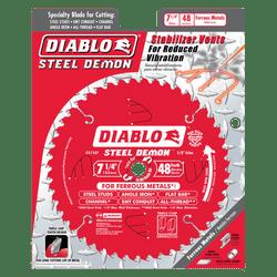"carbide tipped circular saw blade,7-1/4"" circular blade for metal,5/8"" Arbor,metal blade,mild steel blade,steel blade,diamond knockout,Stainless cutting,cermet"