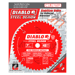 "carbide tipped circular saw blade,7"" circular blade for metal,20MM Arbor,metal blade,mild steel blade,steel blade"