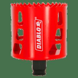 "Diablo hole saw,variable pitch technology,bi-metal hole saw,Snap-Lock Plus,2-3/8"" cutting depth"