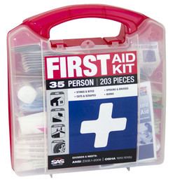 35-Person First-Aid Kit.