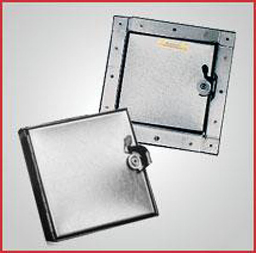 Ductmate Press-On Style Square Frame Insulated Doors 14 x 14