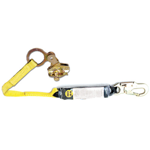 Rope Grab w/Attached 3'Shock Absorbing Lanyard