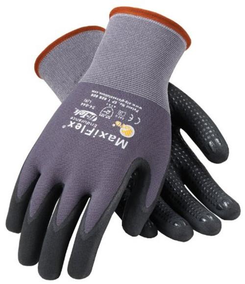 Dotted Micro-Foam Nitrile Gloves - X-Large (1 Dozen)