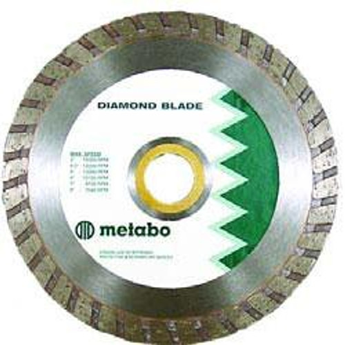 "Metabo 6"" x .080 x 7/8-5/8 Diamond Turbo Disc"
