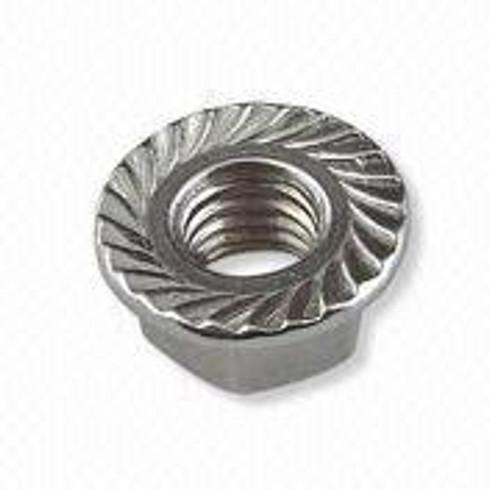 8-32 Whiz-lock Nut Zinc Plated (Box of 100)
