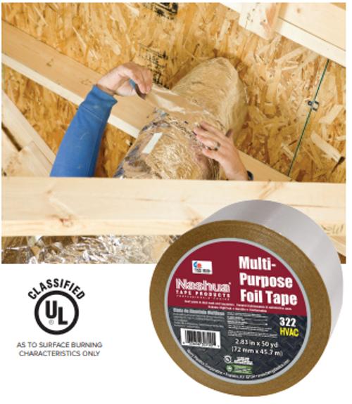 foil tape,nashua tape,322-3