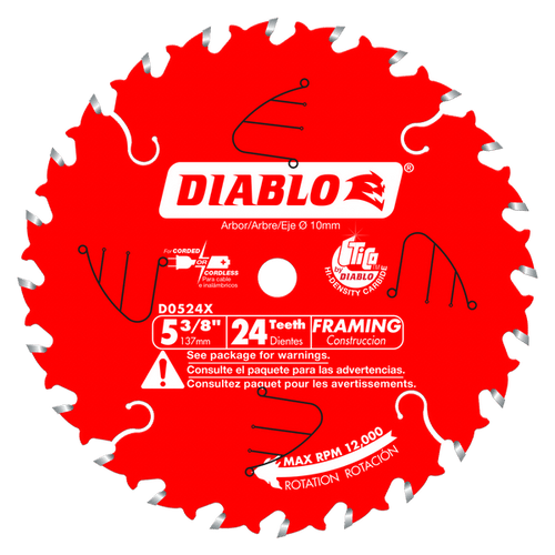 "carbide tipped circular saw blade,5-3/8"" circular blade for wood,framing blade,10MM Arbor"