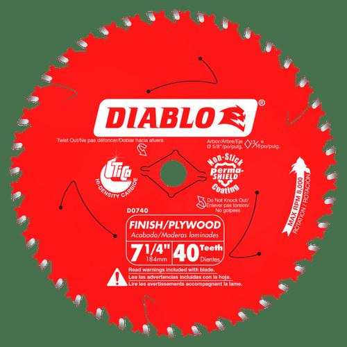 "carbide tipped circular saw blade,7-1/4"" circular blade for wood,finish blade,5/8"" Arbor,diamond knockout"
