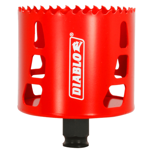 "Diablo hole saw,variable pitch technology,bi-metal hole saw,Snap-Lock Plus,2-3/8"" cutting depth"