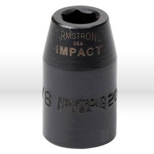 "1"" 6pt Impact Socket 1/2"" Drive"