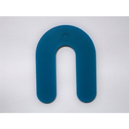 "1/16"" Blue Plastic Shim - Pack of 100"