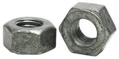 1/4-20 Hot Dip Galvanized Hex Nut (Box of 100)