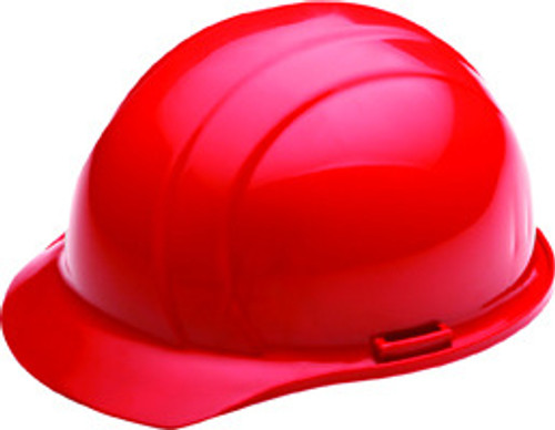 4-point Red Hard Hat