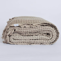 Waffle Blanket - Willow