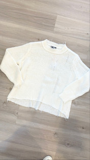 Oliver Distressed Sweater